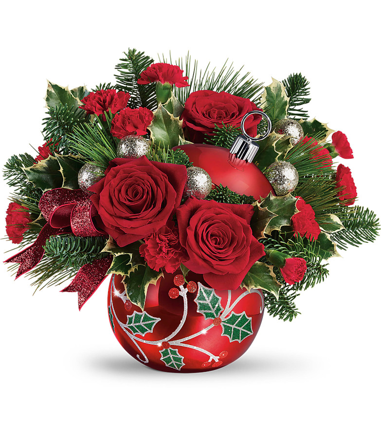 Teleflora Deck the Holly Ornament [SOLD OUT]
