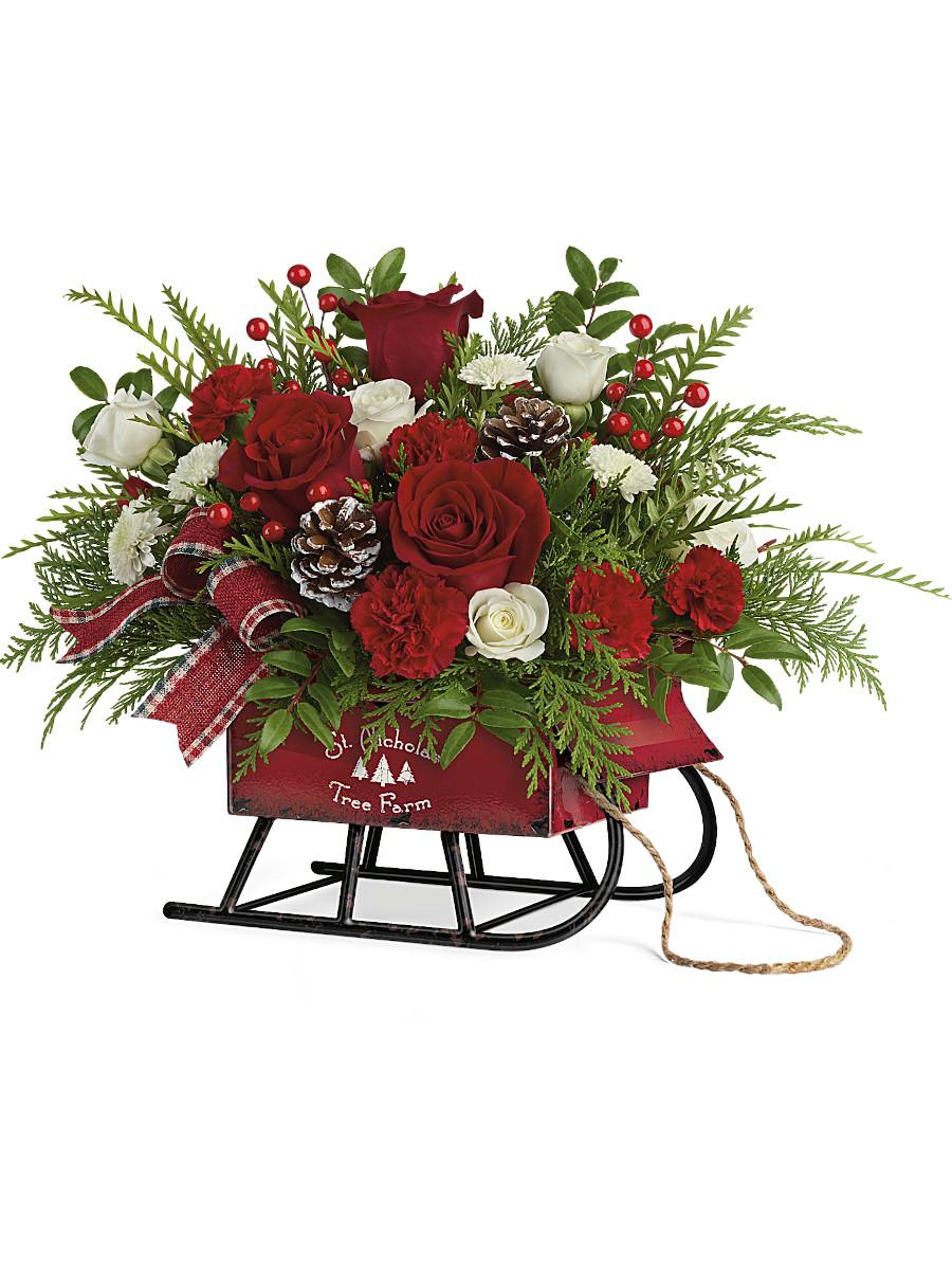 Teleflora Sleigh Bells Bouquet